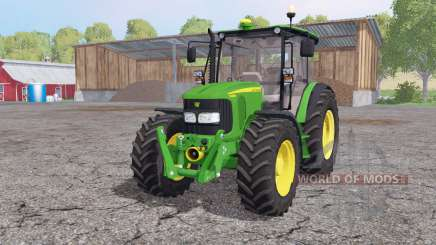 John Deere 5080M loader mounting for Farming Simulator 2015