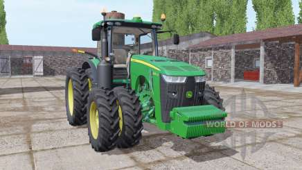 John Deere 8400R front weight for Farming Simulator 2017