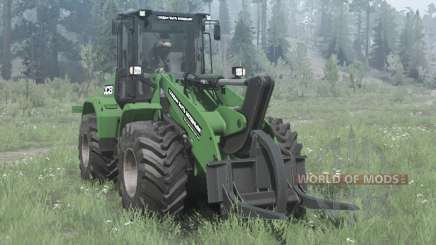 New Holland W170C green for MudRunner