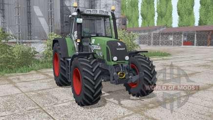 Fendt 820 Vario TMS loader mounting for Farming Simulator 2017