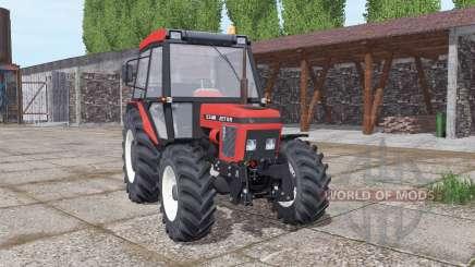 Zetor 5340 soft red for Farming Simulator 2017