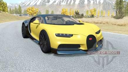 Bugatti Chiron 2016 for BeamNG Drive