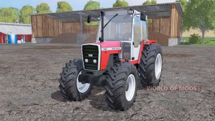 Massey Ferguson 698T interactive control for Farming Simulator 2015