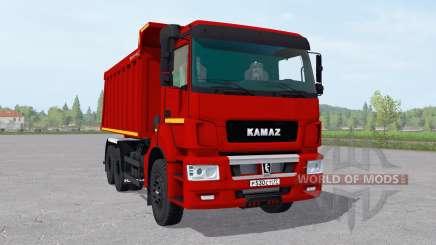 KamAZ 6520-21010-53 v2.1 for Farming Simulator 2017