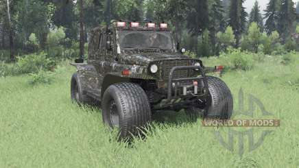3151 UAZ TREKOL for Spin Tires