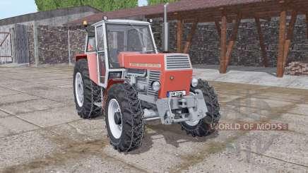 Zetor 12045 Crystal chains on wheels for Farming Simulator 2017