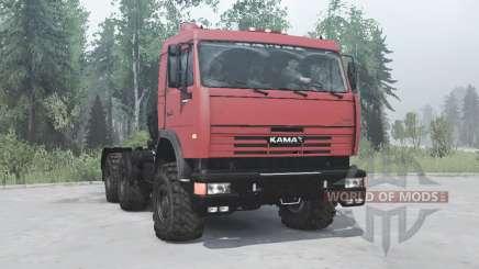 KamAZ 54115 v1.2 for MudRunner