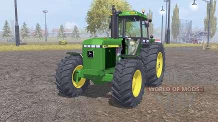 John Deere 4455 front loader for Farming Simulator 2013