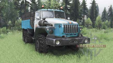 Ural 4320-10 MOE for Spin Tires