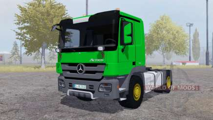 Mercedes-Benz Actros (MP3) green for Farming Simulator 2013