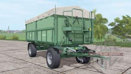 Krone Emsland grayish lime green for Farming Simulator 2017