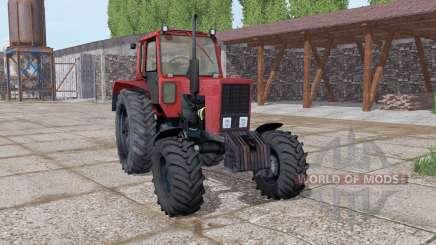 MTZ 82 Belarus soft-red for Farming Simulator 2017