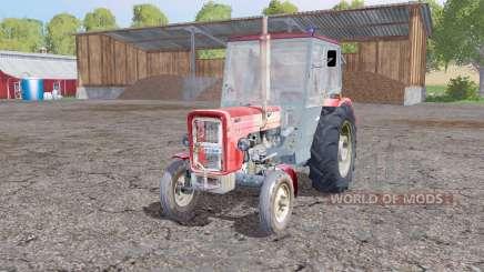 URSUS C-360 4WD very soft red for Farming Simulator 2015