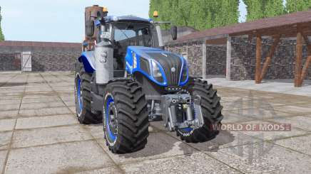 New Holland T8.320 v1.0.2 for Farming Simulator 2017