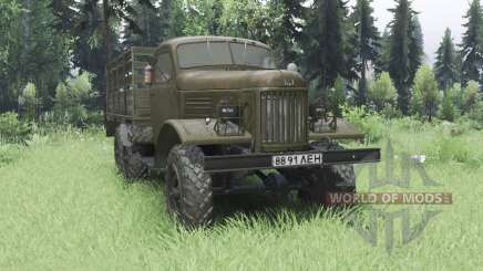 ZIL 157К 1962 for Spin Tires