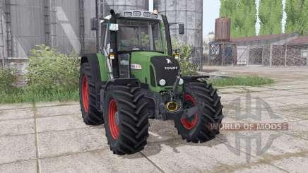 Fendt 412 Vario TMS interactive control for Farming Simulator 2017