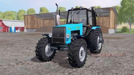 MTZ Belarus 1221В bright blue for Farming Simulator 2015