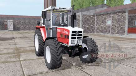 Steyr 8080A Turbo SK2 soft red for Farming Simulator 2017