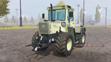 Mercedes-Benz Trac 700 Turbo light yellow for Farming Simulator 2013