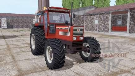 Fiatagri 140-90 Turbo DT dark red for Farming Simulator 2017
