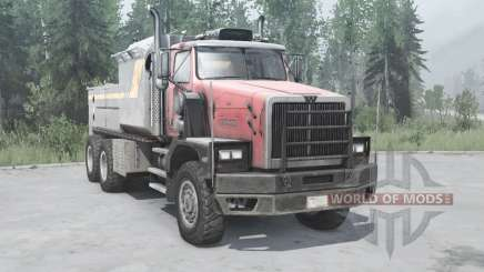 Western Star 6900XD 2008 v1.0.1 for MudRunner