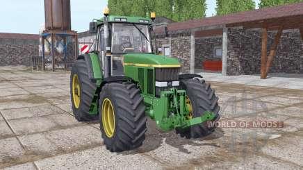 John Deere 7810 green for Farming Simulator 2017