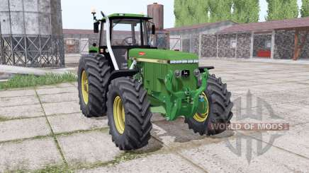 John Deere 4960 green for Farming Simulator 2017