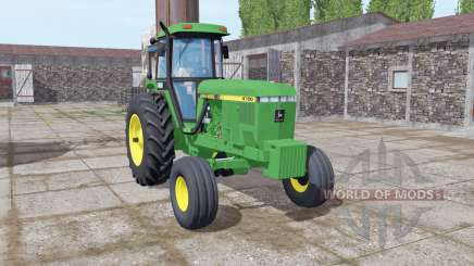 John Deere 4760 green for Farming Simulator 2017