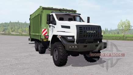 Ural Next (4320-6952-72) garbage truck for Farming Simulator 2017