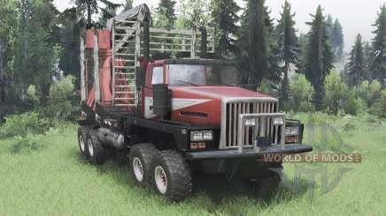 Western Star 6900TS for Spin Tires
