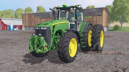 John Deere 8530 dual rear for Farming Simulator 2015