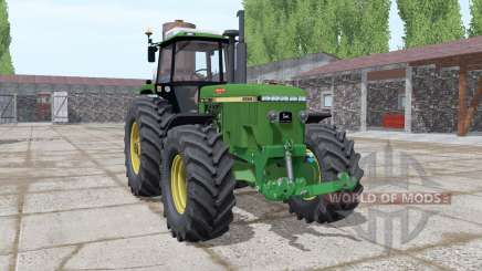 John Deere 4955 green for Farming Simulator 2017