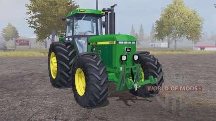 John Deere 4455 moderate lime green for Farming Simulator 2013