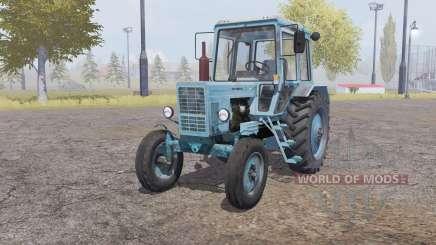 MTZ 80 Belarus 4x4 light gray-blue for Farming Simulator 2013