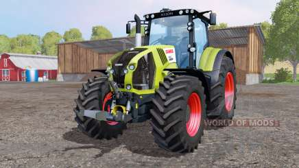 CLAAS Axion 850 bright yellow for Farming Simulator 2015