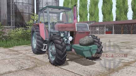 URSUS C-385 interactive control for Farming Simulator 2017