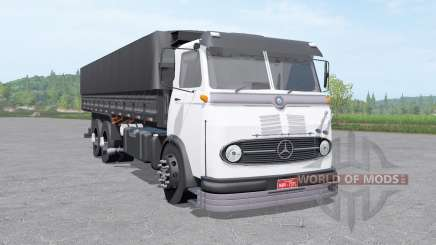 Mercedes-Benz LP 321 3-axle v1.1 for Farming Simulator 2017
