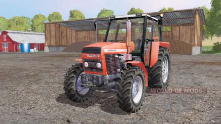 URSUS 1014 soft red for Farming Simulator 2015