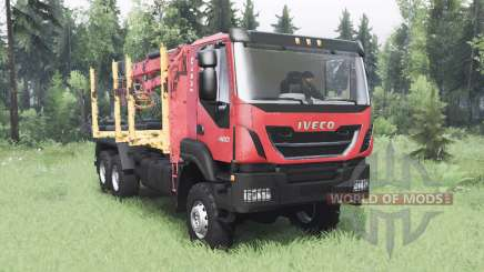 Iveco Trakker 420 for Spin Tires