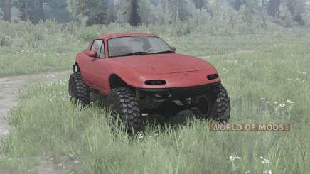 Mazda MX-5 off-road for MudRunner