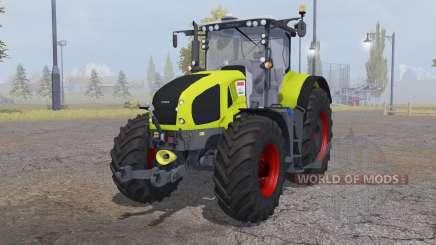 CLAAS Axion 950 bright yellow for Farming Simulator 2013