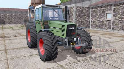 Fendt Farmer 310 LSA Turbomatik wide tyre for Farming Simulator 2017