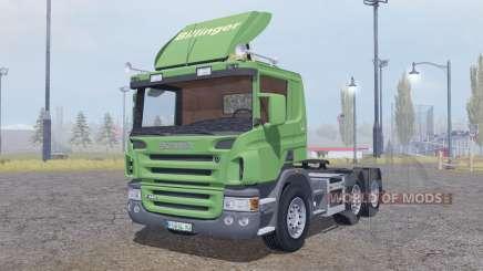Scania P420 6x6 for Farming Simulator 2013