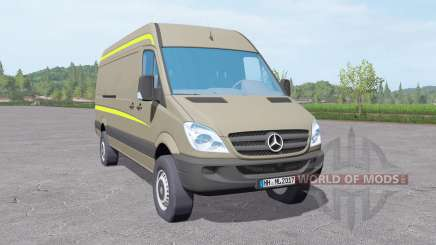 Mercedes-Benz Sprinter LWB High Roof Van 2006 for Farming Simulator 2017