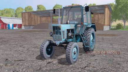 MTZ 80 Belarus soft blue for Farming Simulator 2015