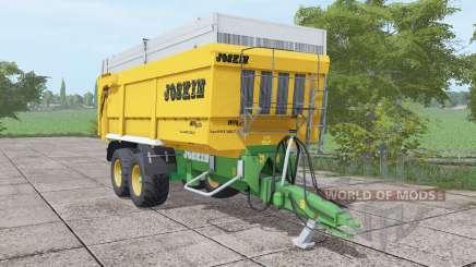 JOSKIN Trans-Space 7000-27 yellow for Farming Simulator 2017