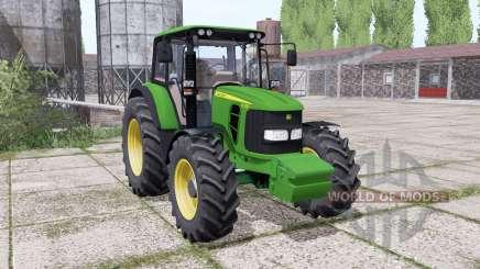 John Deere 6330 dual rear for Farming Simulator 2017