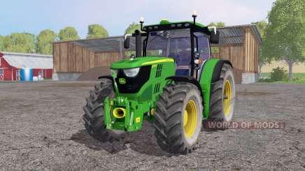 John Deere 6170R lime green for Farming Simulator 2015