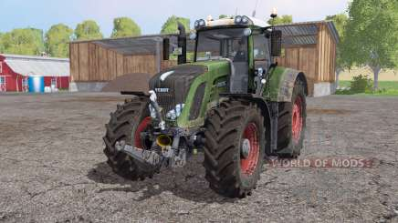 Fendt 936 Vario SCR interactive control for Farming Simulator 2015