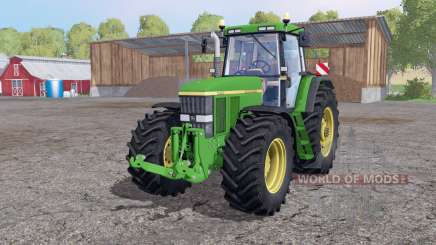 John Deere 7810 twin wheels for Farming Simulator 2015